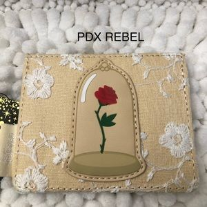 Beauty and the Beast Lace Cardholder